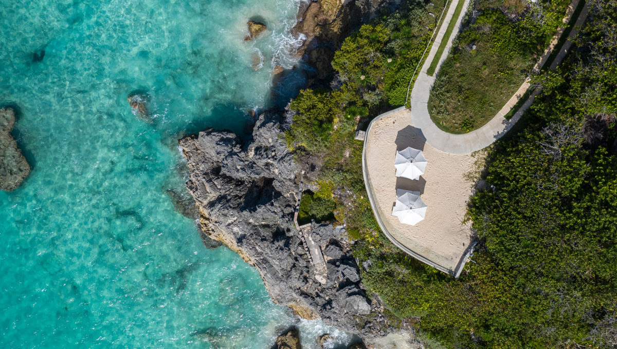 Azura-Bermuda-Beach-Terrace-Overhead-Drone-