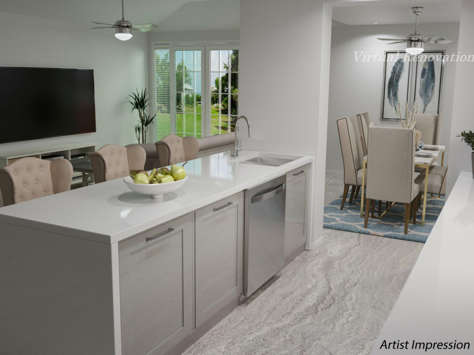 edited kitchen