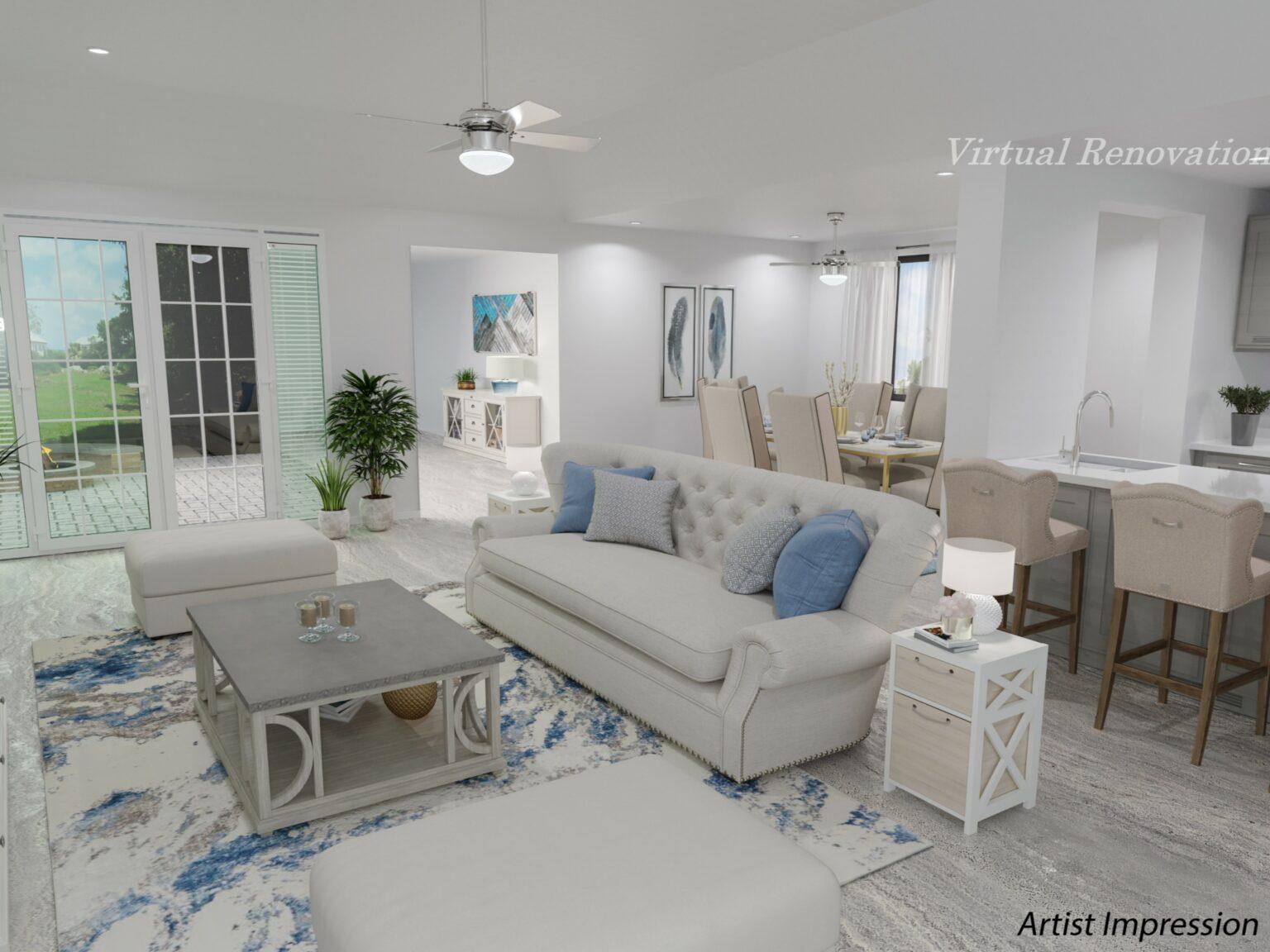 edited lving room