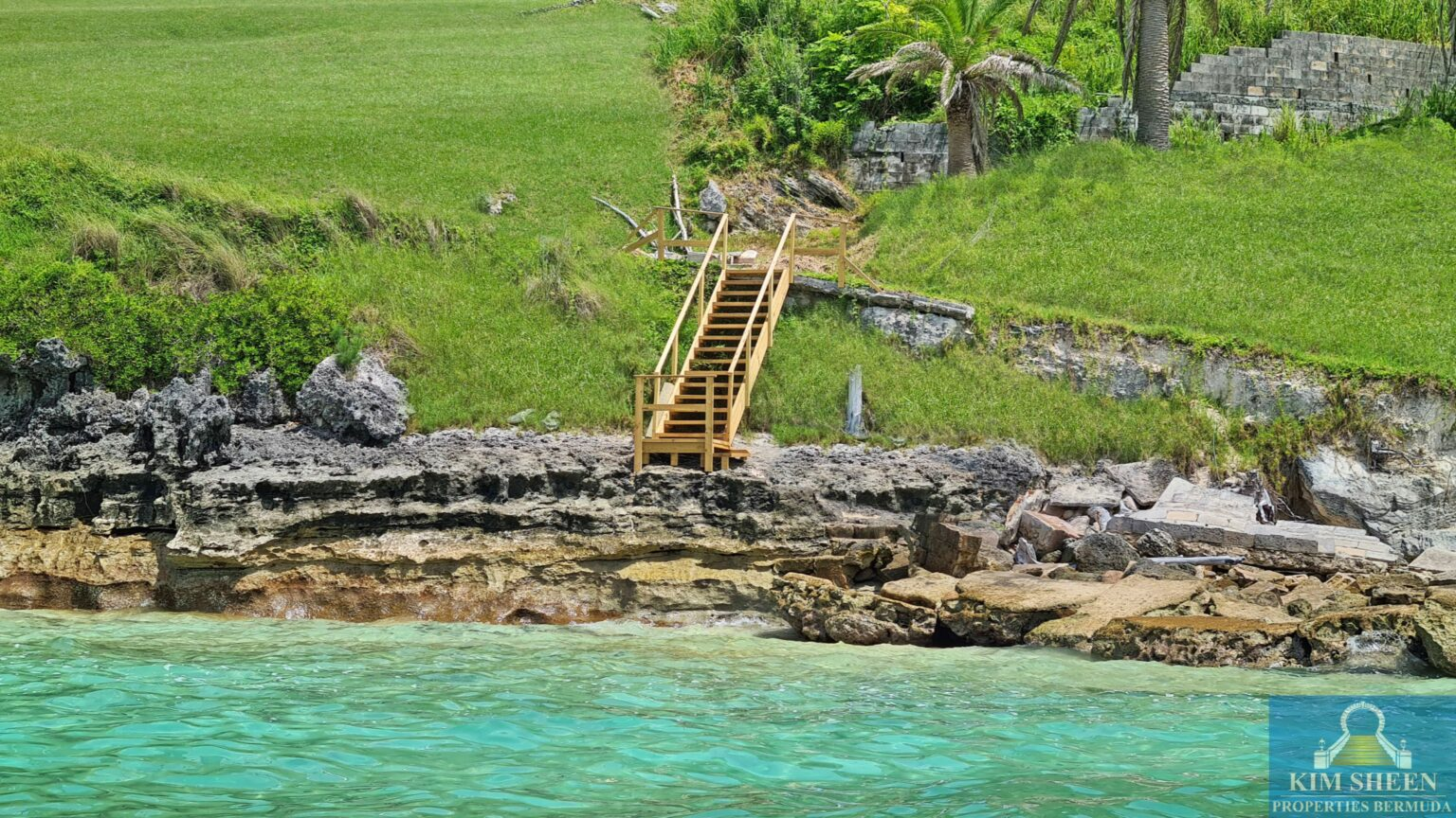 stairs to water
